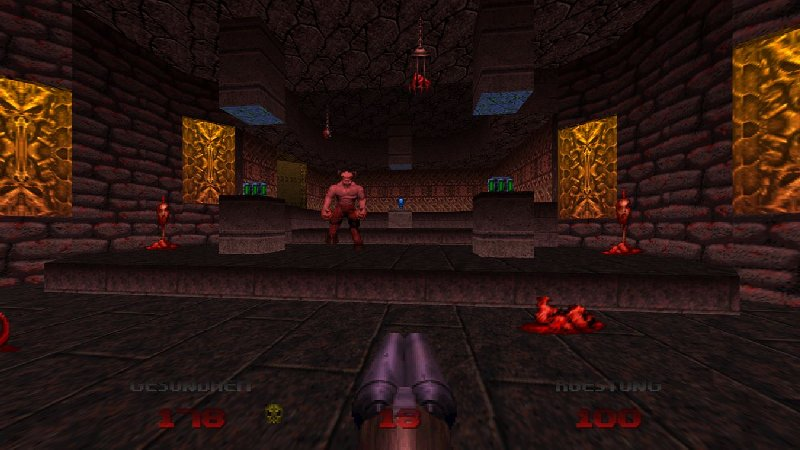 Doom 64 XBox One Screenshot
